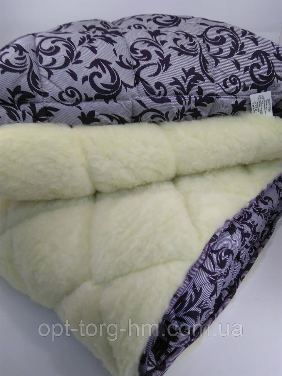 Одеяло Меховое открытое 200*220 ОДА (полиэстер)