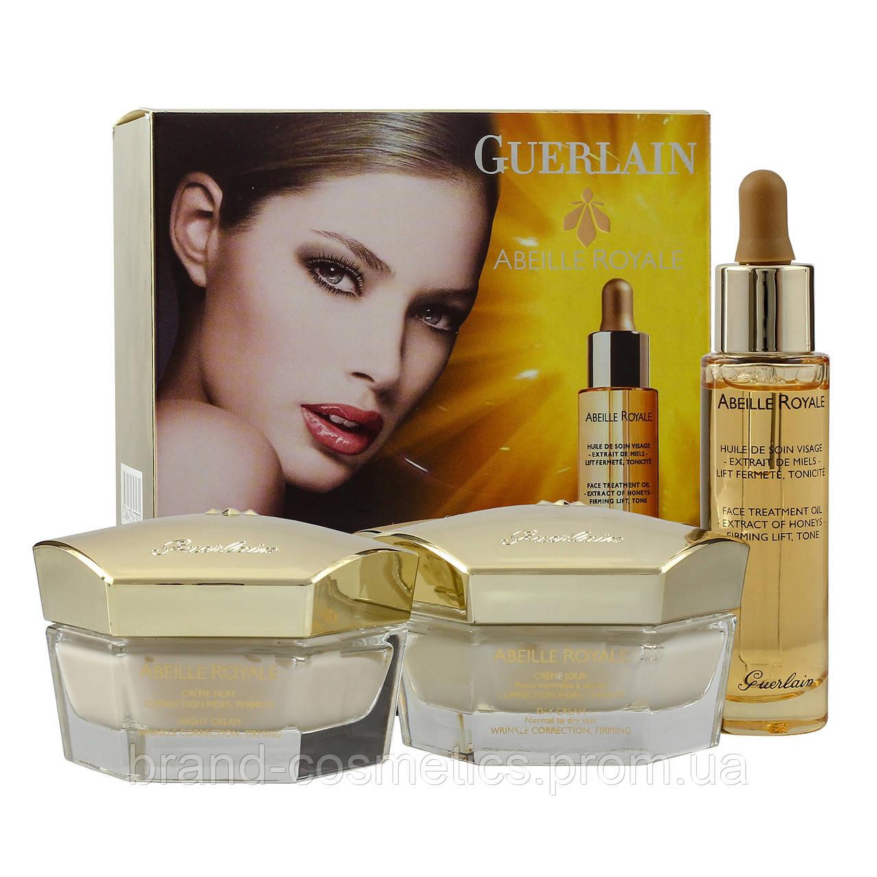 Набор кремов Guerlain Abeille Royale (примятая упаковка)
