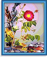 Репродукция  современной картины  «Цветы радуются»