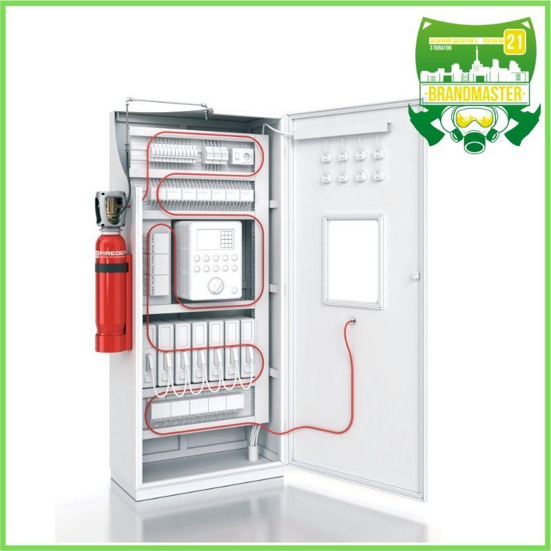 Укомплектована пожежна система для електророзподільних шаф Brandmaster