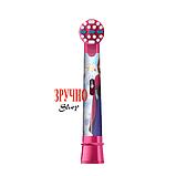 Насадка для дитячої електрощітки Oral-B (фрозен) 1шт + захисний ковпачок, фото 3