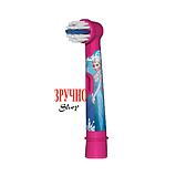 Насадка для дитячої електрощітки Oral-B (фрозен) 1шт + захисний ковпачок, фото 4