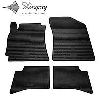Geely GC 6 2014- Комплект из 4-х ковриков Черный в салон