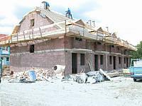 Строительство домов из газобетона.