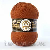 Madame Tricote Мерино Голд 100г/400м 084 медный