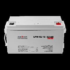 Акумулятор гелевий LPM-GL 12 - 65AH