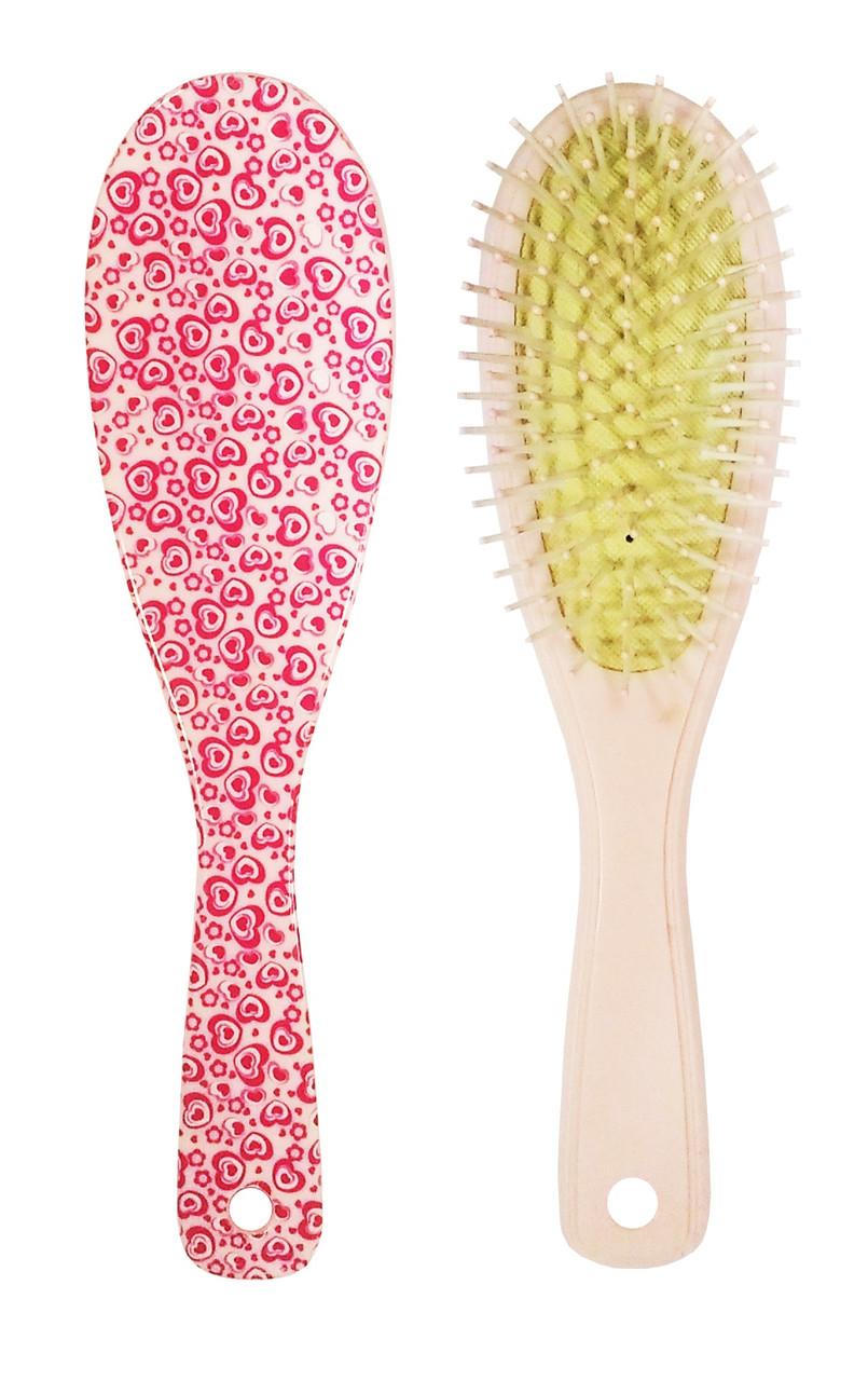 Расчёска для волос La Rosa массажная 7042
