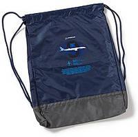 Оригинальный мини рюкзак Boeing 787 Dreamliner Graphic Profile Cinch Sac 598098070039 (Navy)