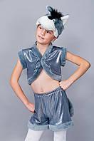 Дитячий Карнавальний костюм сірий Кіт