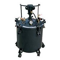 Нагнетательный бак пневматический DP-6414a с автоматической мешалкой на 40 литров