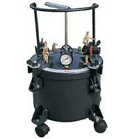 Красконагнетательный бак DP-6414h с ручной мешалкой на 40 литров