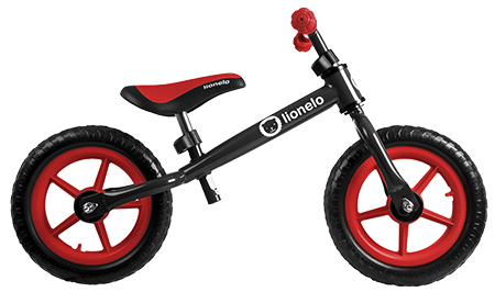 Беговел Lionelo Fin Plus black red