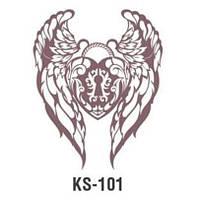 Трафарет KS-101, 25х25см