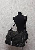 Мужская дорожная сумка David Jones в дорогу кожаная (кожа искусственная) / Саквояж мужской кожаный
