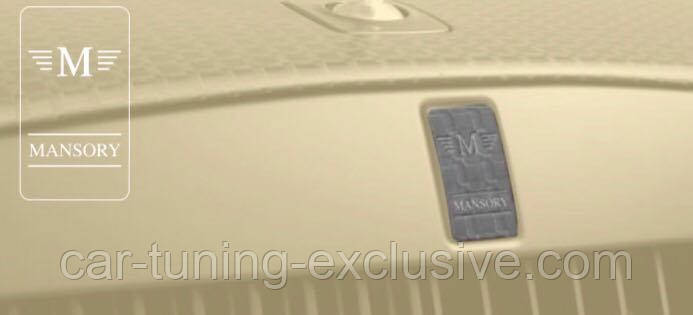 MANSORY emblem for front grill for Rolls-Roys Wraith