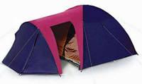 Четырехместная туристическая палатка Coleman 1036 с отдельным тамбуром и доп. входом