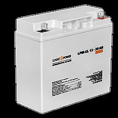 Акумулятор гелевий LPM-GL 12 - 20AH