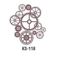 Трафарет KS-118, 25х25см
