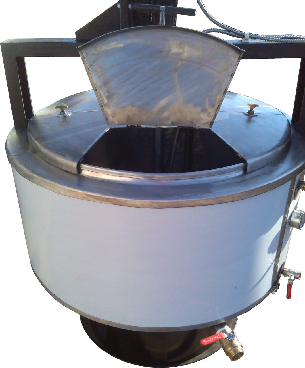 Котел варильний кпе-250 масляний