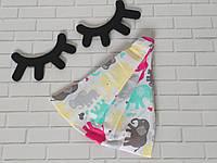 Хлопковая косынка размер   52- 54см