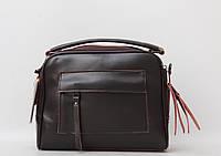 Стильний жіночий клатч в руку і на плече сумка / Стильный женский кожаный (кожа натуральная) клатч
