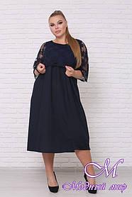 Нарядное летнее платье большого размера (р. 42-90) арт. Хиллари