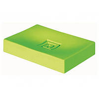 Мыльница пластик зелёный BISK MEANDER
