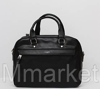 Стильна чоловіча сумка в руку і через плече David Jones / Стильная мужская сумка через плечо