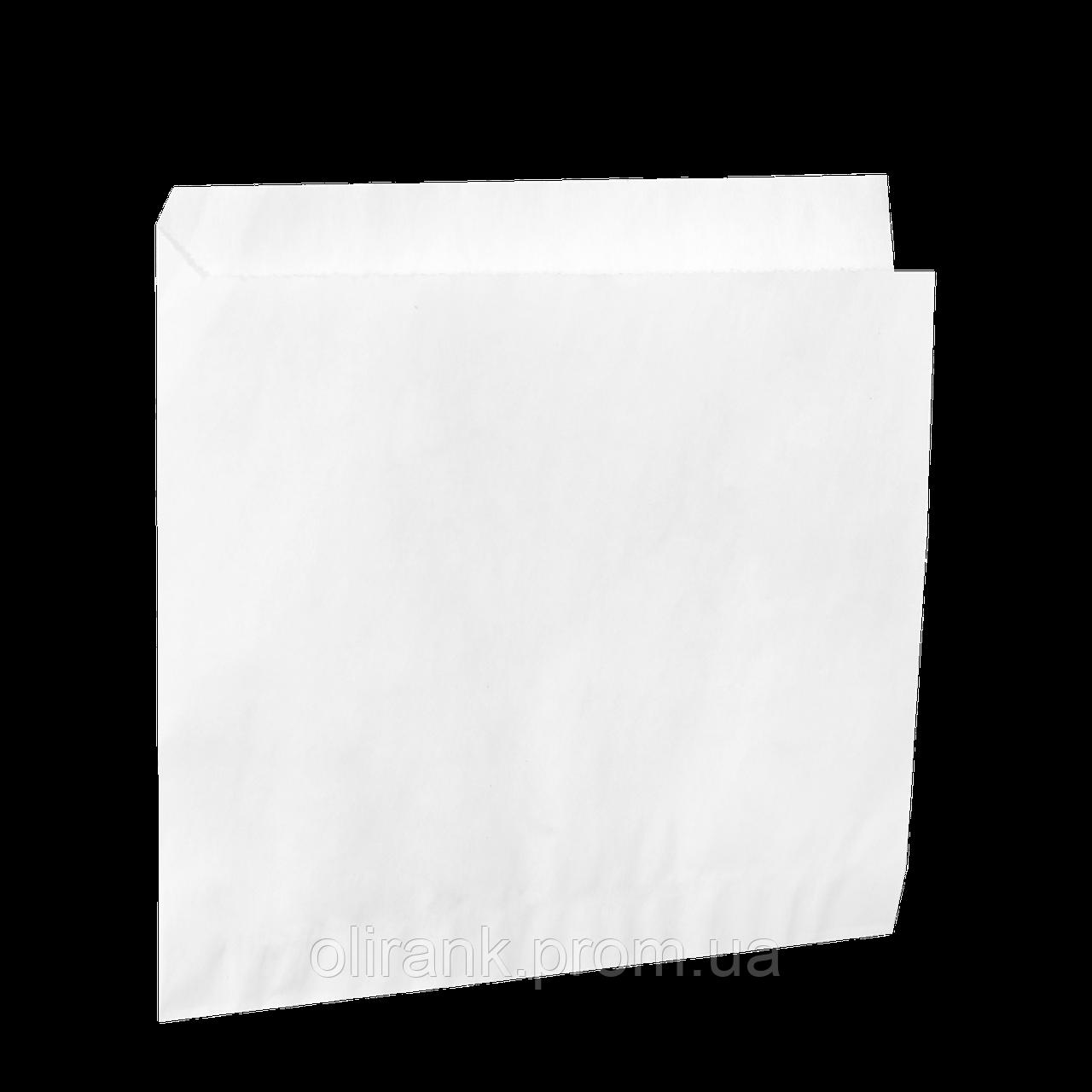Пакет-уголок бумажный  белый 150*140 (500шт)