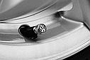 Оригинальные колпачки на ниппель Volkswagen Valve Dust Caps, For Rub/Met (000071215), фото 6