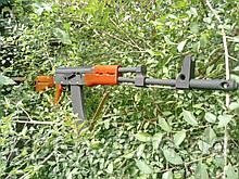 Новый деревянный макет АК-74