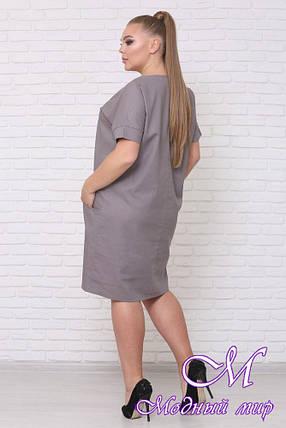 Женское платье большого размера (р. 42-90) арт. Челси, фото 2