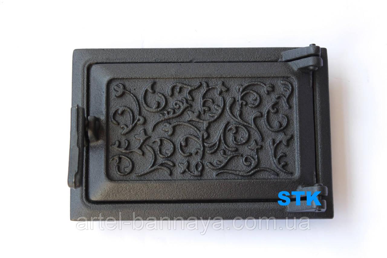 Дверь зольная STK (чугун)