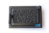 Дверь зольная STK (чугун), фото 1