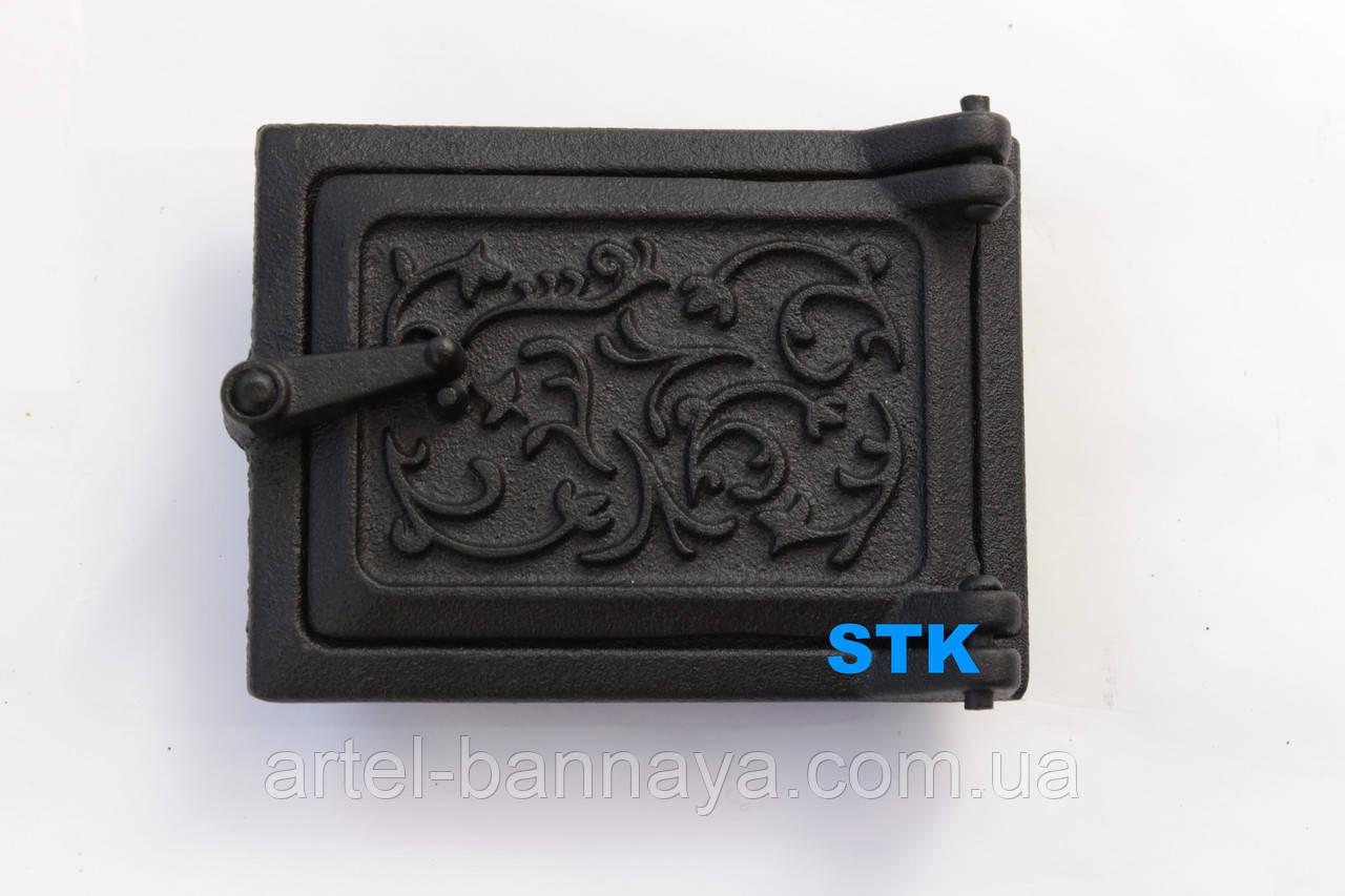 Дверь чистка STK (чугун)