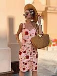Женский сарафан с цветочным принтом, фото 3