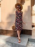 Женский сарафан с цветочным принтом, фото 5