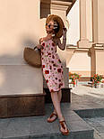 Женский сарафан с цветочным принтом, фото 6