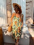Женский сарафан с цветочным принтом, фото 8