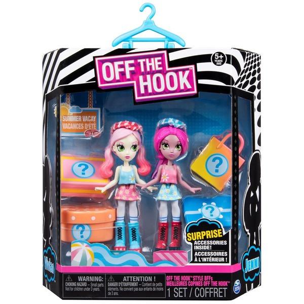 Игровой набор Off the Hook из двух стильных кукол Летний отпуск (SM74301/0045)