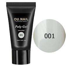 Полигель (акрил-гель) OU.Nail №1 (прозрачный) 30 мл