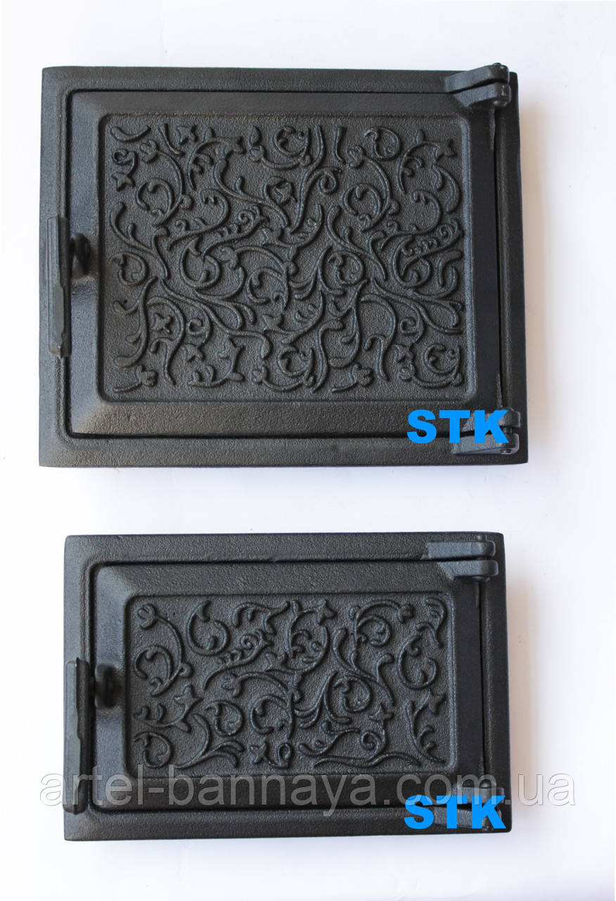 Дверь чугунная STK ( комплект - 2 двери)