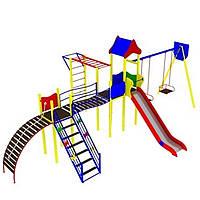 Детский игровой комплекс с горкой Геракл для улицы (для площадки база)