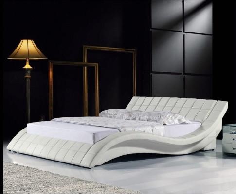 Кровать двухспальная Симфония цвет белый Plombier 8030509. Кровать Freestyle