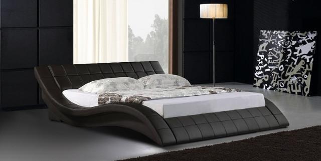 Кровать двухспальная Симфония  цвет черный. Кровать Freestyle