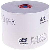Туалетная бумага в мини-рулонах Tork Mid-size (Universal) 135 м. 1 сл. 127540