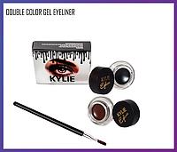 Набор подводок для глаз Kylie Jenner Double Color Gel Eyeliner, Качество