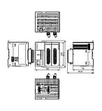 Базовий модуль контролера з серії AS200 Delta Electronics, 8DI/6DO транзисторні виходи NPN, 2AI/2AO, Ethernet, фото 2