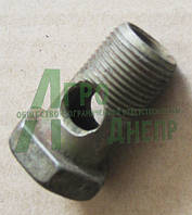 Болт угольника поворотного насос-дозатора 1/2`` ЮМЗ 45Т-3407032