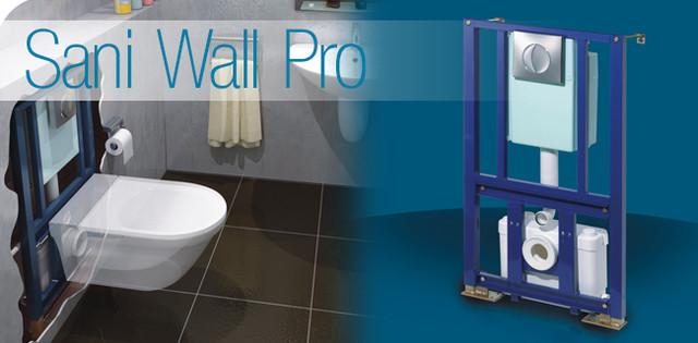 купить встраиваемую в стену канализационную насосную станцию SANIWAL Pro